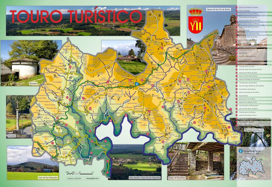 bb7ee4929 Mapa Touro